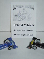 Detroit Wheels .285 Delrin Independent Front End for AW Top Fuel Dragster