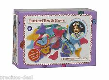 My First Sewing Kit Butterflies & Bows Creative Crafts Set For Kids Arts