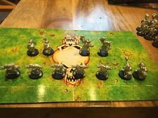 Games Workshop Blood Bowl Orc Orcland Raiders Team 11 Ork miniatures