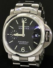 Panerai Luminor Marina PAM 333 Titanium automatic men's watch w/ date