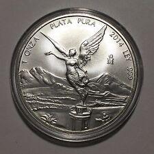 2014 Mexico 1 Troy Oz .999 Fine Silver Libertad Onza Coin in Capsule