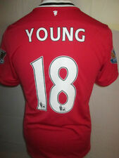 Manchester United 2012-2013 Young 18 Home Football Shirt Size Small /34480