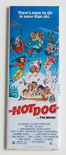 Hot Dog the Movie FRIDGE MAGNET (1.5 x 4.5 inches) insert movie poster ski