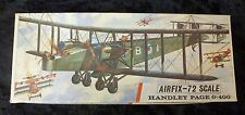 Airfix Handley Page 0-400 1/72 Scale Aircraft Model Kit