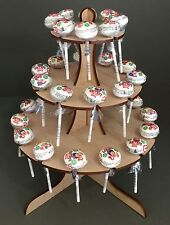 Y43A 32x Lollypop Candy Sweet Stand Cart Table Decoration Centrepiece Wedding