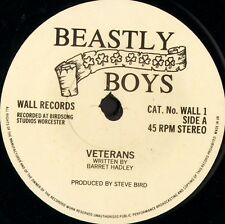 "BEASTLY BOYS veterans/all for me grog/beastly jig WALL1 uk wall 7"" WS EX/"