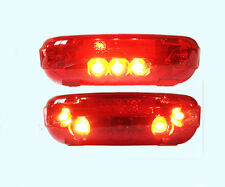 48V LED Tail light Scooter E-bike Turn Signal Rear Lamp Electric Bicycle