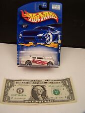 Hot Wheels Shoe Box - White With Red Flames - Collector # 117 - 2000