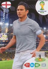 N°134 FRANK LAMPARD # ENGLAND PANINI CARD ADRENALYN WORLD CUP BRAZIL 2014