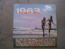 LP 1963 L'ESTATE RCA FLIPPERS-VIANELLO-MARTINO PAOLI ENDRIGO ROSY VG+