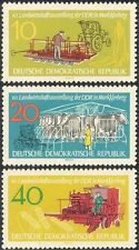 Germany 1962 Cattle/Tractor/Farming/Crops/Animals/Nature/Transport 3v set n43592