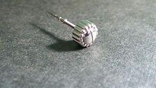 Ebel 6mm Screwdown type crown S/S Stainless Steel - for watch repair