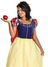 Sexy Adult Prestige Disney Snow White Snowwhite Costume Dress -Large 12-14