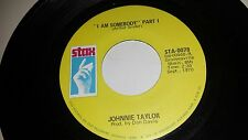 JOHNNIE TAYLOR I Am Somebody Part 1 & 2 STAX 0078 SOUL 45
