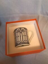 Authentic Hermes H Deco Collection Coffee Tea Mug n°1  grey, 10 fl. oz. NIB