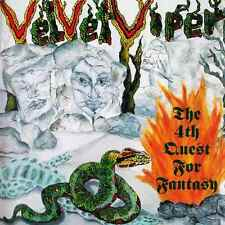 VELVET VIPER The 4th Quest For Fantasy CD -with Jutta Weinhold/ Zed Yago- 162452