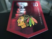CHICAGO BLACKHAWKS STANLEY CUP BANNER 2010 GREAT CONDITION FREE COMBINED S&H