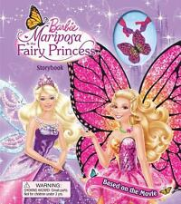 Barbie Mariposa & the Fairy Princess Storybook: Storybook and Necklace (Storyboo