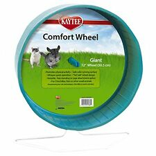 "12"" Chinchilla Giant Comfort Exercise Wheel Colors Vary Pet Rats 100079364"