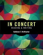 In Concert : Reading and Writing by Kathleen T. McWhorter (2014, Paperback)