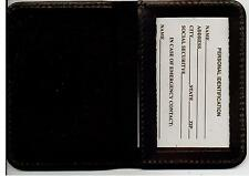 NYPD-Style Police Chaplain Family Member Book Wallet (w/Mini badge included)