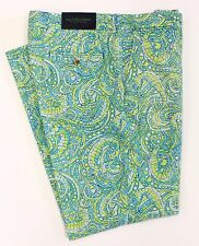 Lilly Pulitzer Phipps Aqua & Lime Trousers Size 36