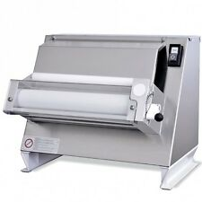 "ONE PASS PIZZA DOUGH ROLLER SHEETER ,SINGLE ROLLER DIAMETER 16"" ROLLING MACHINE"