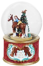 My First Pony Musical Snow Globe By Breyer Code 700236 Plays Here Comes Santa
