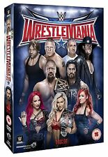 WWE Wrestlemania 32 [3 DVDs] + Hall of Fame 2016 *NEU* WM XXXII DVD