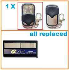 Accent Garage Doors Gate DUAL ACCESS REMOTE CONTROL Replacement Remote