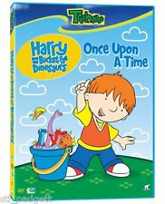 Harry & His Bucket Full of Dinosaurs: Once Upon A Time NEW RARE!  DVD