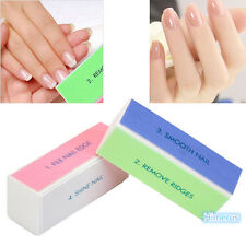 Fashion  Nail Art Manicure 4 Way Shiner Buffer Buffing Block Sanding File