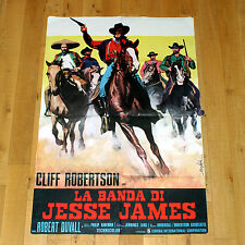 LA BANDA DI JESSIE JAMES manifesto poster The Great Northfield Minnesota Raid