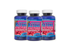 3X Raspberry Ketone Lean Fat Burner Weight Loss 1200mg 180 Caps Diet Keytones