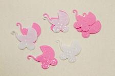 Confettis de table landeau rose et blanc x 10gr.