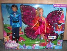 Barbie Mariposa & the Butterfly  Fairy Princess Prince Two Dolls NIB