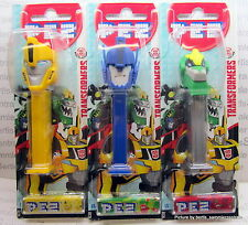 PEZ - TRANSFORMERS - NEW 2016 - set of 3 - MOC