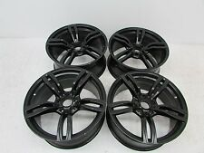 "2014 2015 BMW Sport 19"" Rim Black Wheel Alloy Set 36117846778 OEM 14 15"