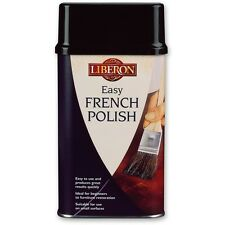 LIBERON 250ml Clear EASY FRENCH POLISH Brush On Shellac & Resin Blend Oak Pine