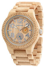 WEWOOD Kardo Beige Wood-Men's Watch WW26001 NIP