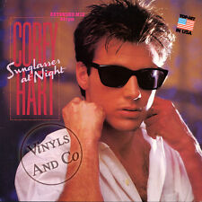 COREY HART - Sunglasses At Night [Extended] Vinyl MAXI 45 TOURS 1983 Germany 12""