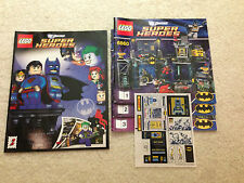 Lego NEW Instructions / Directions + Sticker Set + Comic ONLY set 6860 3 Books