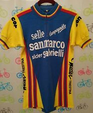 Small 3 WILIER TRIESTINA Campagnolo CONCOR Vintage Wool Cycling Jersey EROICA