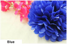 12'' Wedding Party Birthday Tissue Paper Pom Poms Flower Ball Décor Color 12