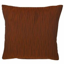 "NEW Wavy Patterned Textured Cushion Covers 18 x 18"" Decor Throw Pillow Case SALE"