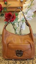 Michael Kor tan fulton  Pebbled Leather Hobo Shoulder Bag pu110
