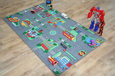 Large Children's Highway Roads 94cm x 164cm Kids Car Track Racing Play Mat