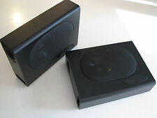 NEW Hidden Under or Rear Seat Radio Speakers Enclosures 3X8X11 inch Compact Box