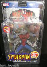 """Marvel Spider-Man Classics 6"""" MAN-SPIDER New! Rare! w/Silver Foil Mini Poster"""