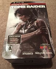 TOMB RAIDER SURVIVAL COLLECTORS EDITION PlayStation 3 PS3 Complete PLAY ARTS KAI